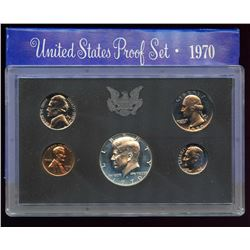 1970 US Proof 5 Coin Set, half is 40% silver