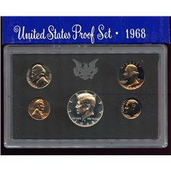 1968 US Proof 5 Coin Set, half is 40% silver