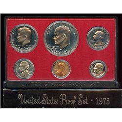 1975 US Mint 6 Coin Proof Set with box