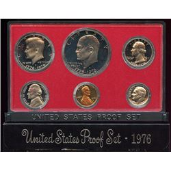 1976 US Mint 6 Coin Proof Set with box