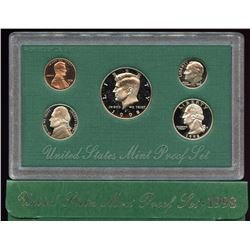 1998 US Mint 5 Coin Proof Set with box
