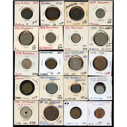 Mixed Lot of 52 World Coins, starter kit