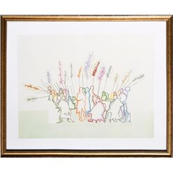 Larry Rivers, An Outline of History, Offset Lithograph