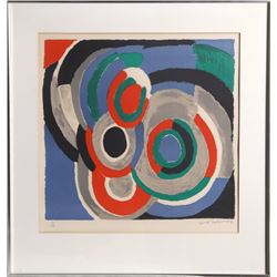 Sonia Delaunay, Hommage a Stravinsky, Lithograph