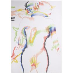 Marisol Escobar, Rainbow People, Lithograph