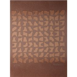 Paul Maxwell, Modern Shapes, Cast Paper