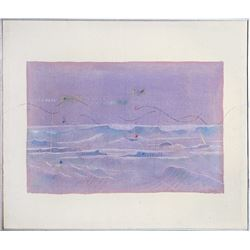 Neil Murphy, Ocean Series I, Stained and Dyed Canvas
