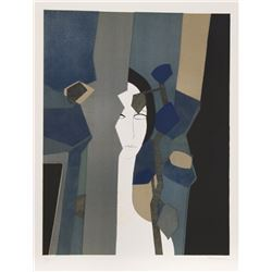 Andre Minaux, Amant from the Helene Portfolio, Lithograph