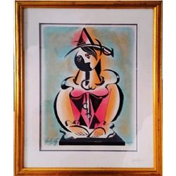 Neal Doty, Jester Woman, Serigraph