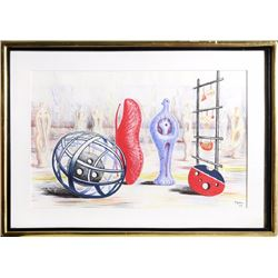 Henry Moore, Sculptural Objects, Lithograph