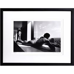 Lucien Clergue, Man and Woman at Window, Photograph