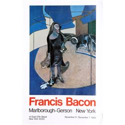 Francis Bacon, Exhibition at Marlborough/Gerson Galleries, New York, Poster
