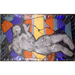 Alexander Raymond Katz, Reclining Figure, Stypol and Polymer Mixed Media