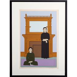 Will Barnet, Reflection, Serigraph