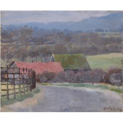 Colin Colahan, Country Road, Oil Painting