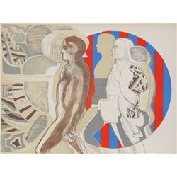 Arnold Belkin, Untitled 3, Lithograph
