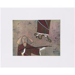 Saint Clair Cemin, Sorceress, Aquatint Etching