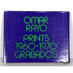 Omar Rayo, Prints 1960-1970 Grabados, Catalogue Raisonne Book with Intaglio Print