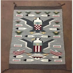 Pictorial Navajo Textile - Nelson
