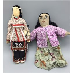 Pair Of Native Dolls