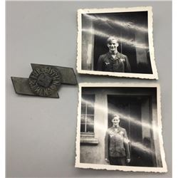WWII Hitler Youth Proficiency Badge and Photos
