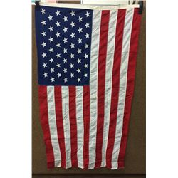 Vintage 49 Star Cloth Flag