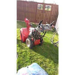 """Craftsman 9.5HP OHV/27"""" Snow Blower, Electric Start, Automatic Drive, Power Steering"""