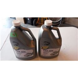 Zep Commercial Fast 505 Industrial Cleaner, Degreaser, 2 4L Jugs, Both Full