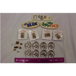 Lot Of Vintage Pins And Bottle Openers