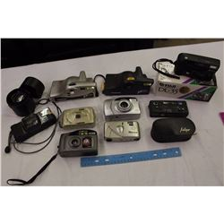 Lot of Digital Cameras