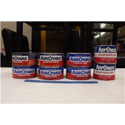 AerOwax Paste Wax Tins (Empty)(8)