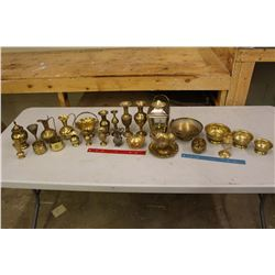 Lot of Brassware