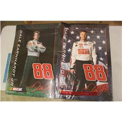 Two Nascar Dale Earnhardt Jr. Posters