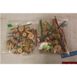 Lot Of Tinkertoys