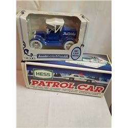 Patrol Cards w/Sound &A 1918 Ford Runabout Metal Bank