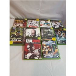 10 Xbox Games (Mostly Sport Related)