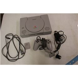 Playstation Console w/Cords & A Controller