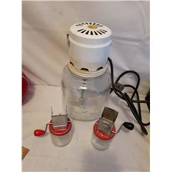 Electric Frisco Churn & Nut Meat Grinders (2)