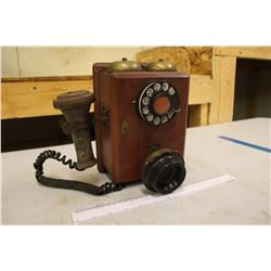 Vintage General Electric Wall Mount Phone