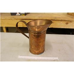 Vintage Copper Oil Pouring Can