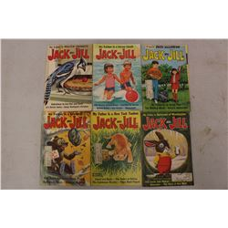 Lot Of Jack And Jill Books (6) (1970)