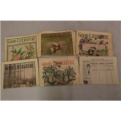 Lot Of Good Literature Magazines (1904)