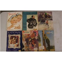 Lot Of National Magazines (6) (1947-1944)