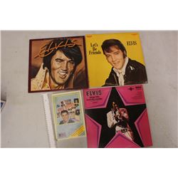 Lot Of Elvis Records and Cassettes