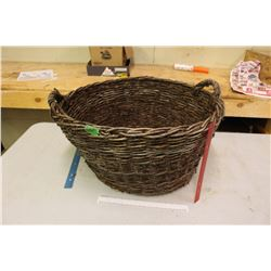 Very Old Willow Basket