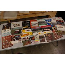 Assorted Shortline Farm Implement Brochures