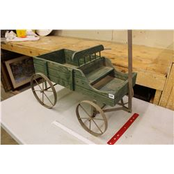 Miniature Wooden Buggy
