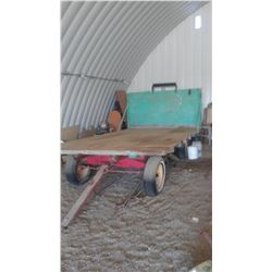"Rubber Tired Hay Wagon (13'6""x7'6"")"