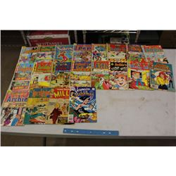 Lot Of Archie Comic Books, Mostly 70's)