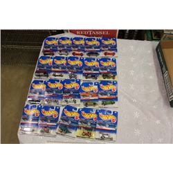 Lot Of Sealed Hot Wheels Toys